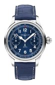 Montblanc Villeret 1858 Chronograph Tachymeter Blue Limited Edition 44 mm