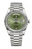Rolex Oyster Perpetual 228239-0033 Day-Date White Gold 40 mm