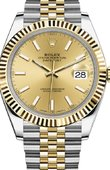 Rolex Datejust 126333-0010 41 mm Steel and Yellow Gold