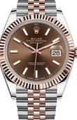 Rolex Datejust 126331-0002 41 mm Steel and Everose Gold