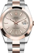 Rolex Datejust 126301-0009 41 mm Steel and Everose Gold