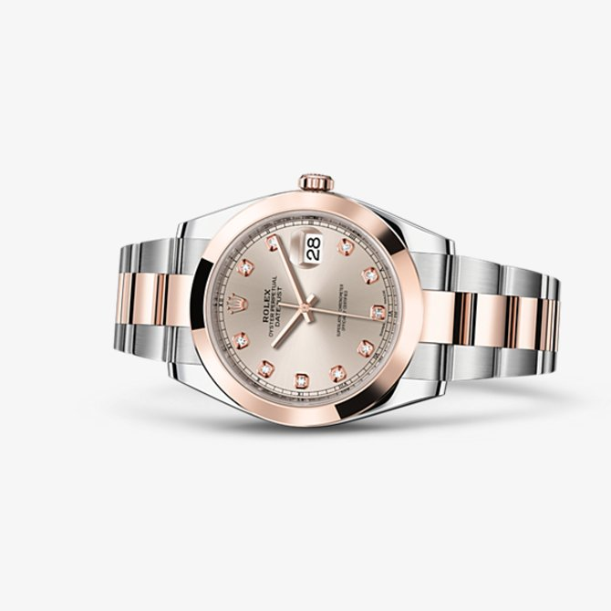 Rolex 126301-0007 Datejust 41 mm Steel and Everose Gold - фото 2