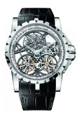Roger Dubuis Excalibur EX45-01SQ-20-00/SX000/B Skeleton Double Flying Tourbillon