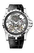 Roger Dubuis Excalibur EX45-01SQ-20-00/0E000/B Skeleton Double Flying Tourbillon