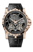 Roger Dubuis Excalibur EX45-01SQ-50-00/0E000/B Skeleton Double Flying Tourbillon