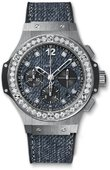 Hublot Big Bang 41mm 341.SX.2770.NR.1204.JEANS Jeans Steel Diamonds