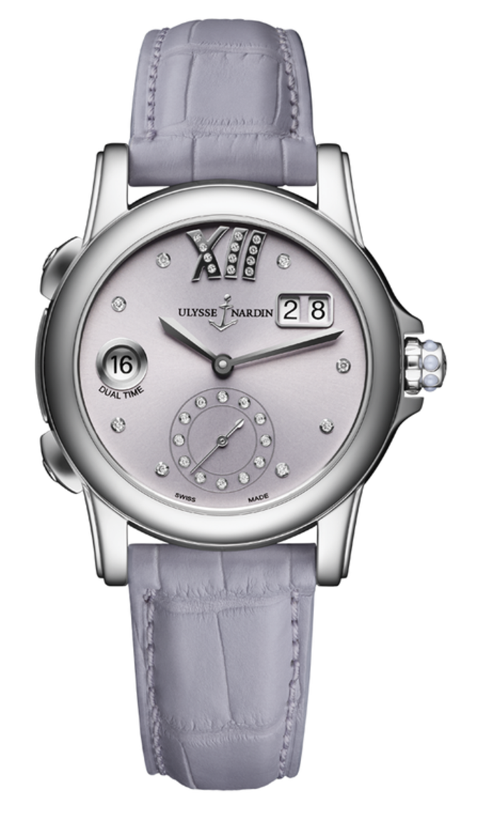 3343-222/30-07 Ulysse Nardin Dual Time Lady Classico