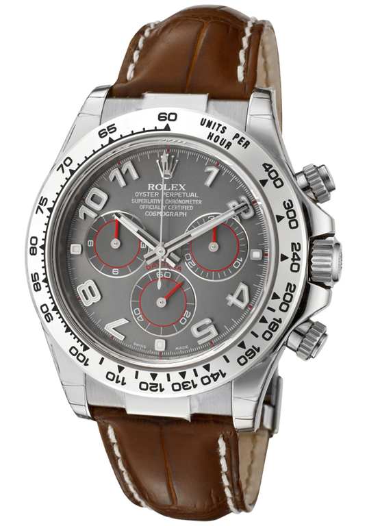 116519-Gray Rolex Cosmograph 40 mm White Gold Daytona