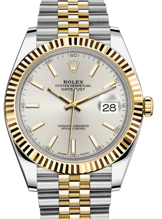 126333 Silver Rolex Yellow Rolesor New 2016 Datejust