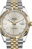 Rolex Datejust 126333 Silver Yellow Rolesor New 2016