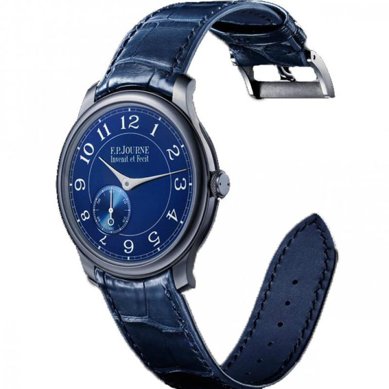 Chronometre Bleu F.P.Journe Manual Wind Souveraine