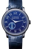F.P.Journe Souveraine Chronometre Bleu Manual Wind