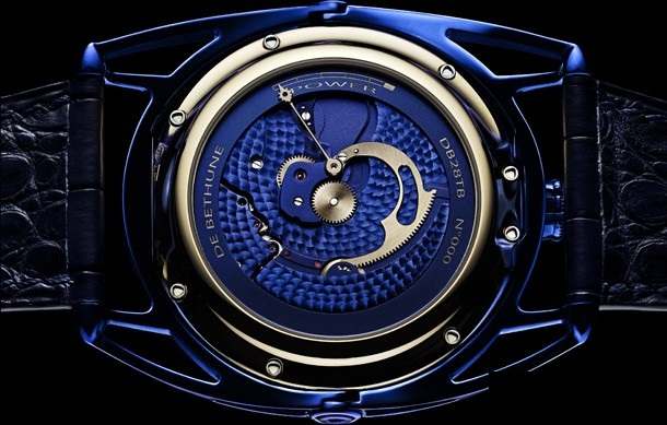 DB28TBRBN/S De Bethune DB28 Kind of Blue Tourbillon Dress Watches