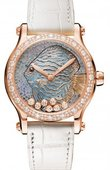 Chopard Часы Chopard Happy Diamonds 274891-5015  Fish Metiers d'Art 36mm Automatic