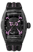 Cvstos Часы Cvstos Challenge Black Carbon Forged Carbon Honolulu Inkvaders Skull