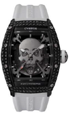 Cvstos Challenge Black Steel / Titanium Components Black Diamond Inkvaders Skull