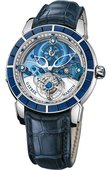 Ulysse Nardin Specialities 799-90BAG Royal Blue Tourbillon Haute Joaillerie Limited Edition of 99 Watch