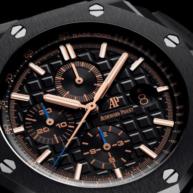 26405CE.OO.A002CA.02 Audemars Piguet Chronograph 44mm Ceramic Royal Oak Offshore