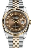 Rolex Datejust 116233-0209 36mm Steel and Yellow Gold