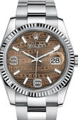 Rolex Datejust 116234-0156 Steel and White Gold