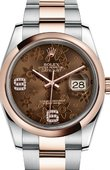 Rolex Datejust 116201-0105 Steel and Everose Gold