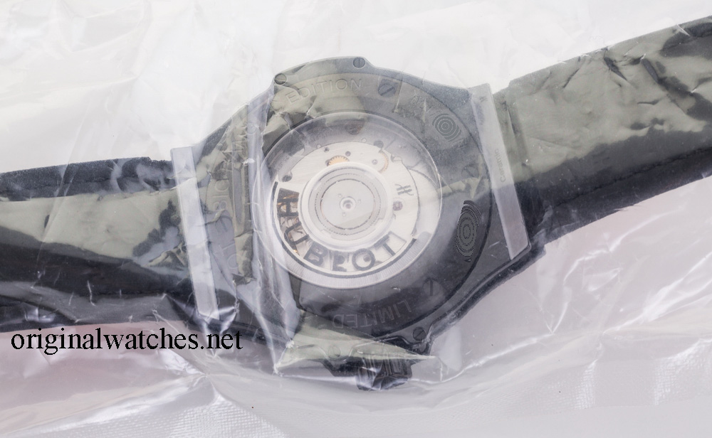 343.CP.6590.NR.1233 Hublot Broderie Skull Big Bang 41mm Ladies