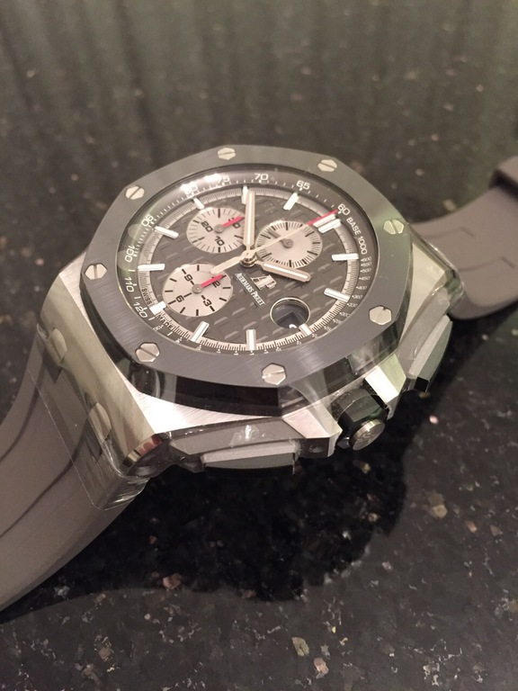 26400IO.OO.A004CA.01 Audemars Piguet Chronograph 44 mm Royal Oak Offshore