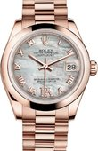 Rolex Datejust Ladies 178245f-0034 Everose Gold