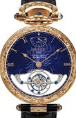 Bovet Fleurier AIF0T013-GO carving Amadeo Grand Complications 45 7-Day Tourbillon