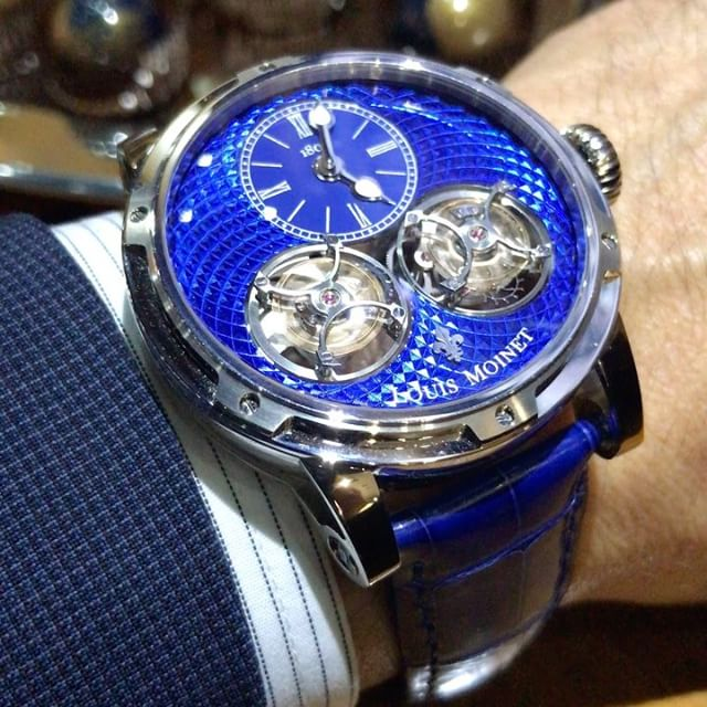 Sideralis Double Tourbillon Louis Moinet White Gold Limited Editions
