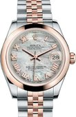 Rolex Datejust Ladies 178241-0057 31 mm Steel and Everose Gold