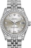 Rolex Datejust Ladies 178159-0007 31 mm White Gold