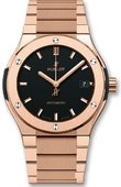 Hublot Classic Fusion 510.OX.1180.OX King Gold