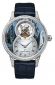 Jaquet Droz Legend Geneva j013014271 Grande Seconde Tourbillon Blue Pietersite