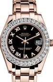 Rolex Datejust Ladies 81285-0044 Pearlmaster Everose Gold 34