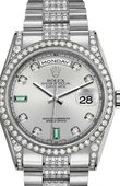 Rolex Day-Date 118389-0079 White Gold