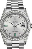 Rolex Day-Date 118389-0078 White Gold