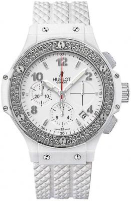 342.cl.230.rw.114 Aspen Hublot Chronograph Big Bang 41mm Ladies