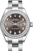 Rolex Datejust Ladies 279384rbr-0018 Steel and White Gold