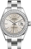 Rolex Datejust Ladies 279384rbr-0008 Steel and White Gold