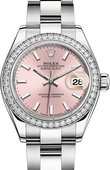 Rolex Datejust Ladies 279384rbr-0002 Steel and White Gold