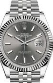 Rolex Datejust 126334-0014 Steel and White Gold