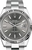 Rolex Datejust 126334-0013 Steel and White Gold
