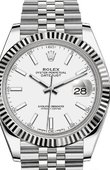Rolex Datejust 126334-0010 Steel and White Gold