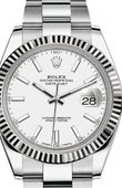 Rolex Datejust 126334-0009 Steel and White Gold
