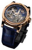 Louis Moinet Limited Editions Louis Moinet Mecanograph New York Pink Gold