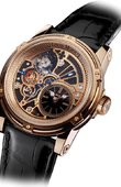 Louis Moinet Limited Editions Louis Moinet Tempograph Black Pink Gold