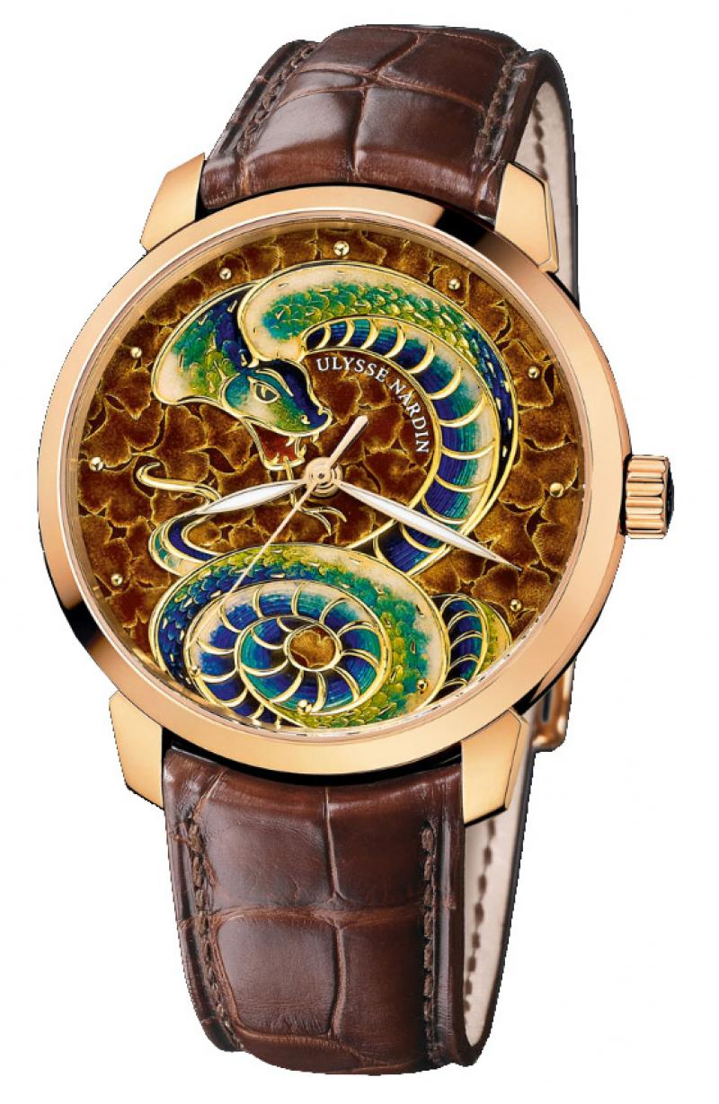 8156-111-2/SNAKE Ulysse Nardin Classico Serpent Limited Edition 88 Classico