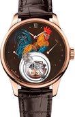 Zenith Academy 18.2215.8804/72.C713 Christophe Colomb Fire Rooster