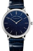 A.Lange and Sohne Часы A.Lange and Sohne Saxonia 205.086 Blue Brilliance Thin